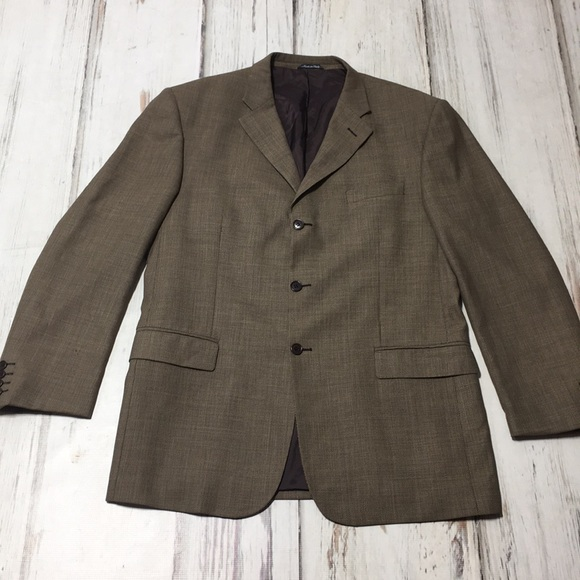 Missoni Other - Missoni Blazer Suit Jacket Wool Brown Italy 44